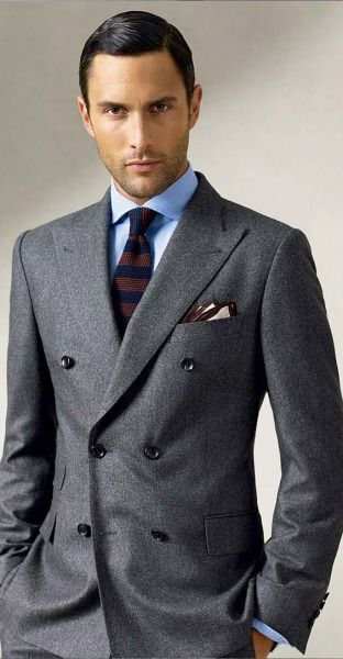 1000+ ideas about Double Breasted Suit on Pinterest ...