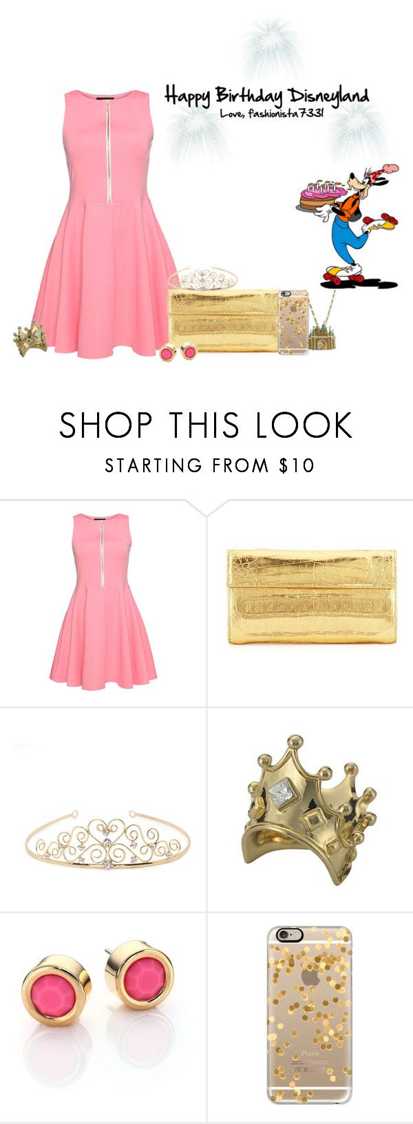 """Happy Birthday Disneyland!"" by fashionista7331 ❤ liked on Polyvore featuring Nancy Gonzalez, Jon Richard, Disney Couture, Marc by Marc Jacobs and Casetify"