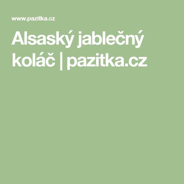 Alsaský jablečný koláč   pazitka.cz