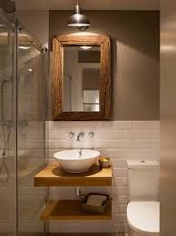 Resultado de imagen para diseño de baños muy pequeños semi rusticos