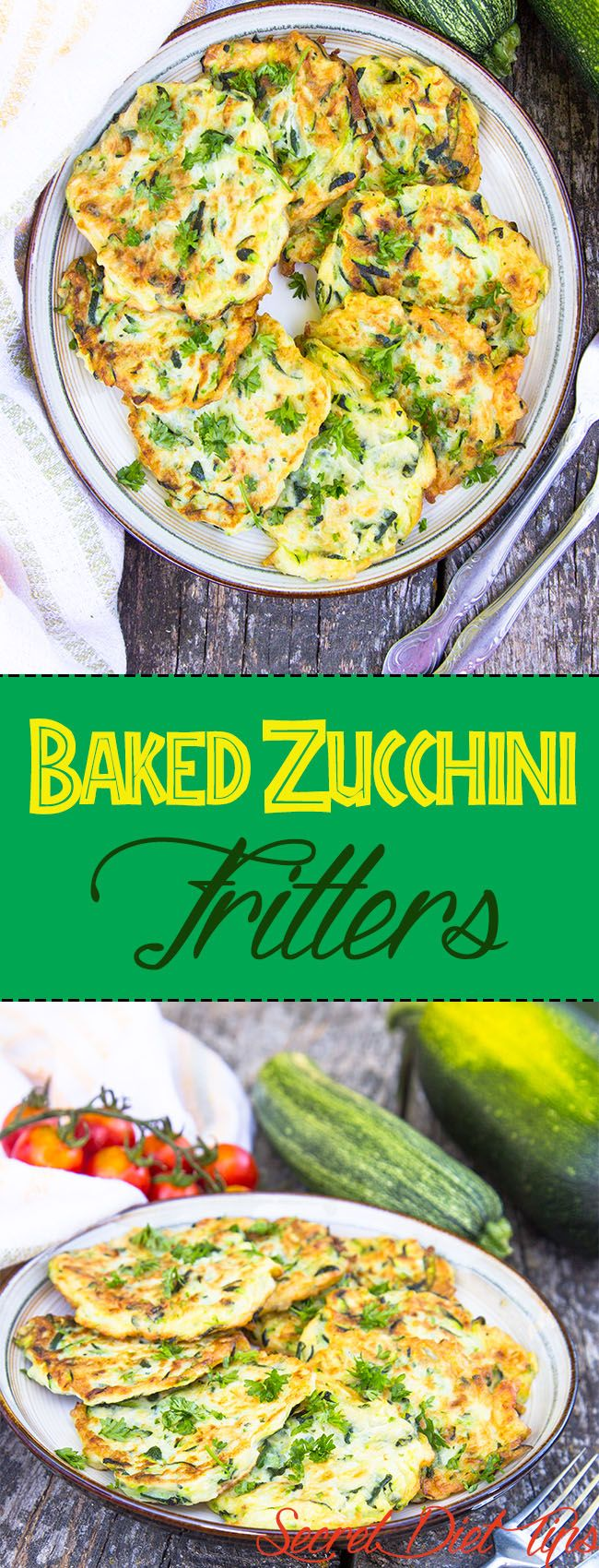 Baked zucchini fritters make a very sumptuous yet delicious meal when baked. The dish is a notch away from the normal mode of preparation, which is frying. Preparing this dish is nevertheless uncomplicated and you