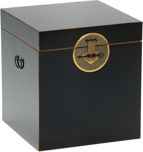 Tesco direct: Baumhaus The Nine Schools Qing Black and Gilt Trunk