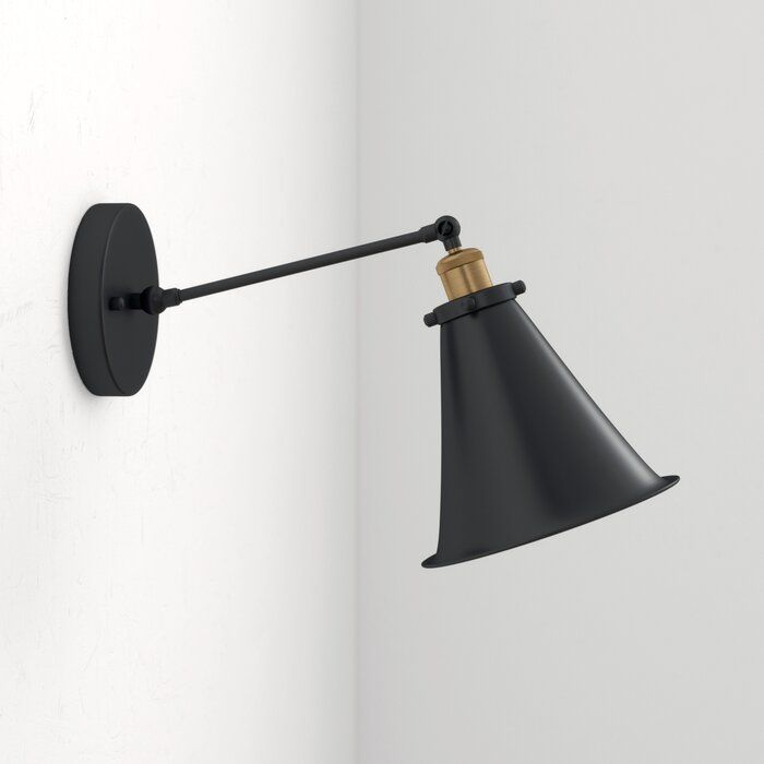 Matte Flat Black Sconce Wall Light Black Sconces Bathroom Sconces Wall Lights