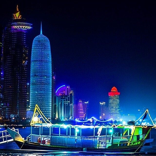 Doha, Qatar الدوحة٬ قطر by @alnoubi__  www.batuta.com