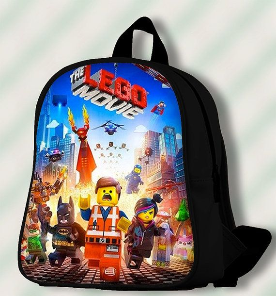 The Lego Movie poster  Custom by SmileSchoolBags on Etsy