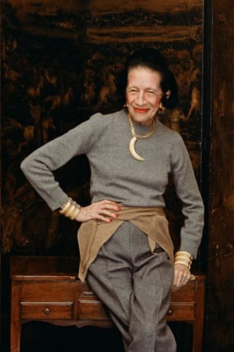 Diana Vreeland created the concept of the fashion editor. She joined Harper's Bazaar in 1936 and remained there for 25 years and the images she created are the most referenced in fashion history. She had a hand in everything, and everything she touched she revolutionised.