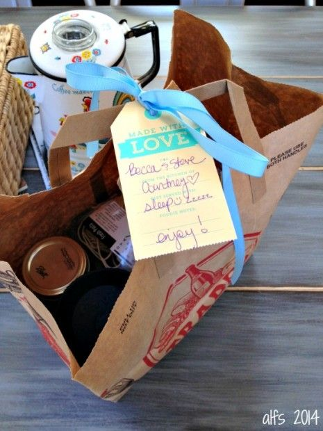 A few ideas for a gift basket for a new mom!  http://a-life-from-scratch.com/bread-becca/