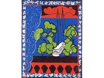 Tahiti ii 1935 1936 mus e matisse le cateau cambr sis for Matisse fenetre a tahiti