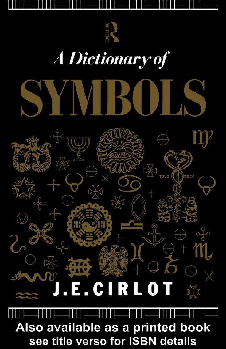 J e cirlot dictionary of symbols