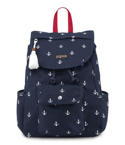 JanSport Breaktown Backpack - Navy Moonshine Anchors Away
