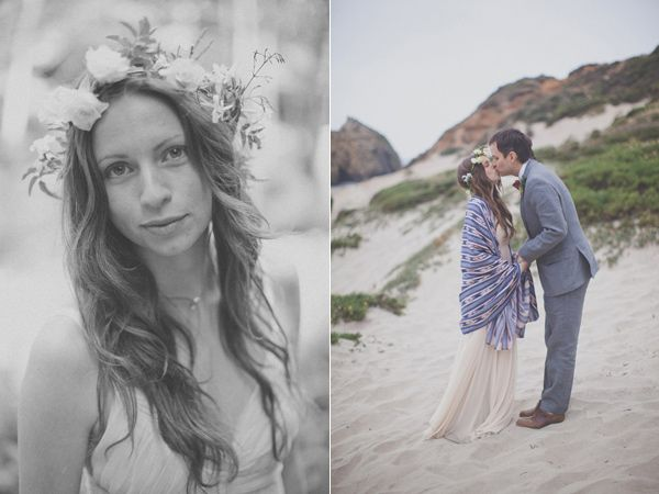 Bohemian Big Sur Wedding