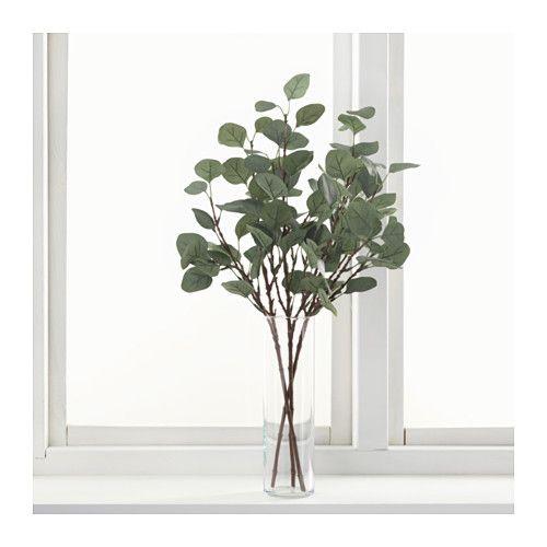 SMYCKA Fleur artificielle, eucalyptus, vert