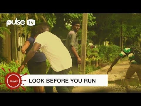 Pulse TV Pranks is on false panic alert. This is the funniest scare pranks you have seen in recent times.Why do people run without seeing what is pursuing them?Find out with Pranks with Makopolo.Look before you run it may be a false alert.Pulse.ng is Nigeria's online news platform. 24/7 news gist music movies lifestyle events sports and more.DOWNLOAD VIDEO  http://ift.tt/2yAk3f6