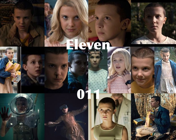 since the date is 11/11, here's a collage for my girl El who makes stranger things amazing. Eleven is such a great character and Millie plays her perfectly. Happy #eggosforeleven day!!!