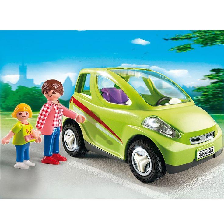 Voiture de ville avec maman et enfant Playmobil City Life - 5569