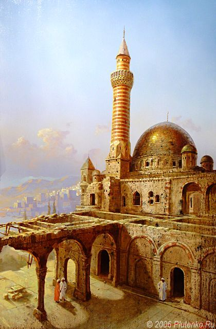 "Stanislav Plutenko (Russia, born 1961) ""Under the Arched"""