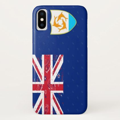 #Anguilla Flag Phone Case - #trendy #gifts #template