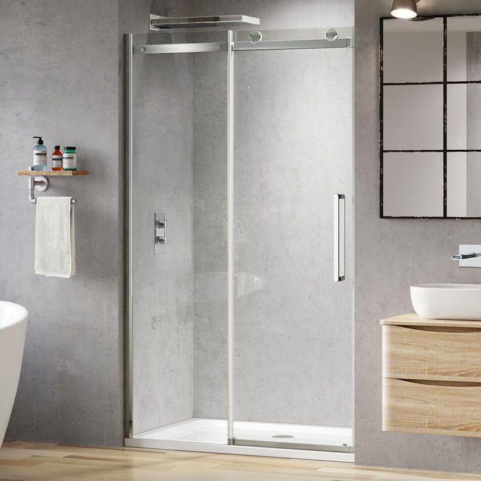 1200mm 8mm Designer Frameless Easyclean Sliding Shower Door Glass Shower Enclosures Sliding Shower Door Frameless Sliding Shower Doors
