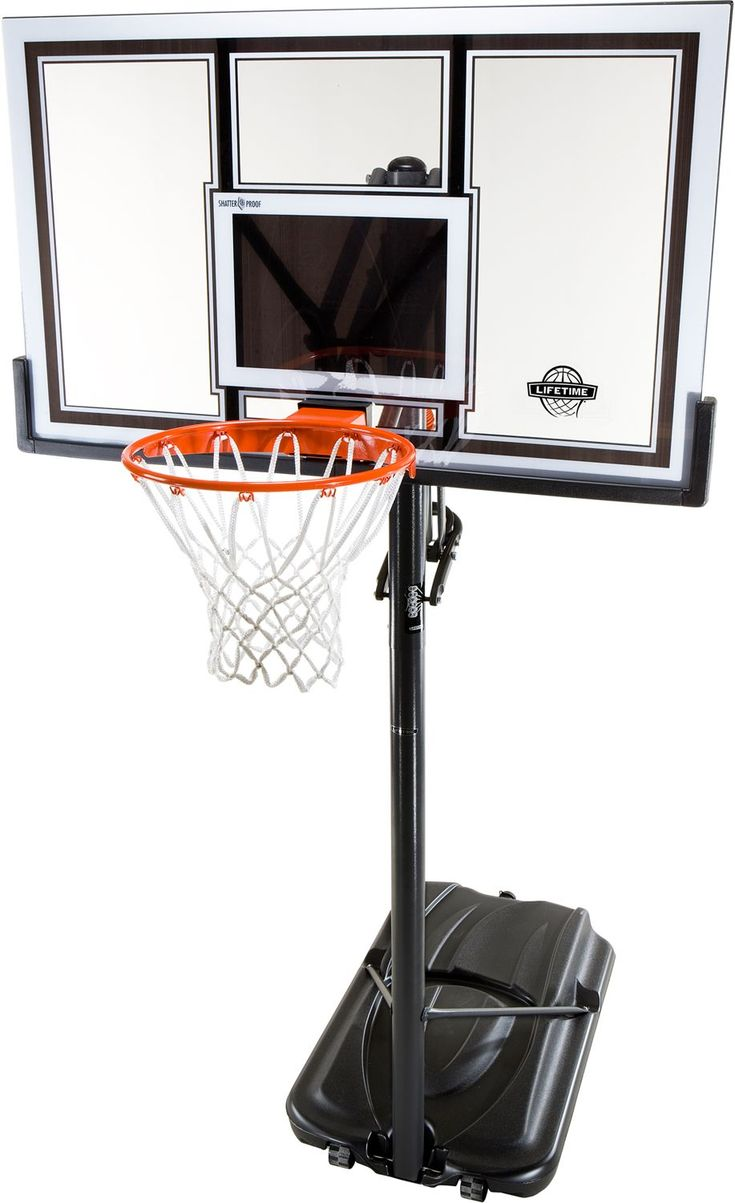 lifetime basketball goal 23 best spalding in ground basketball hoops images on 10874
