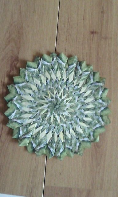 Mandala groen people