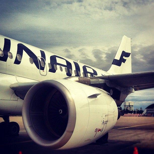 Finnair. Photo by @JoonasVirtanen.