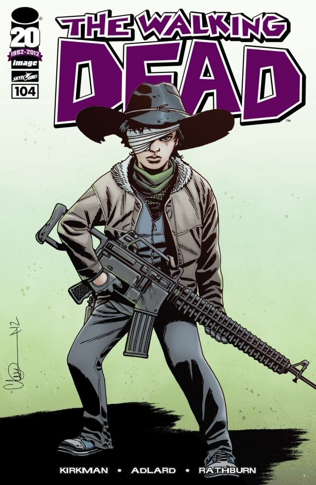 If you won't handle this...I will. Read The Walking Dead #104 and more of this week's new comics on comiXology today!