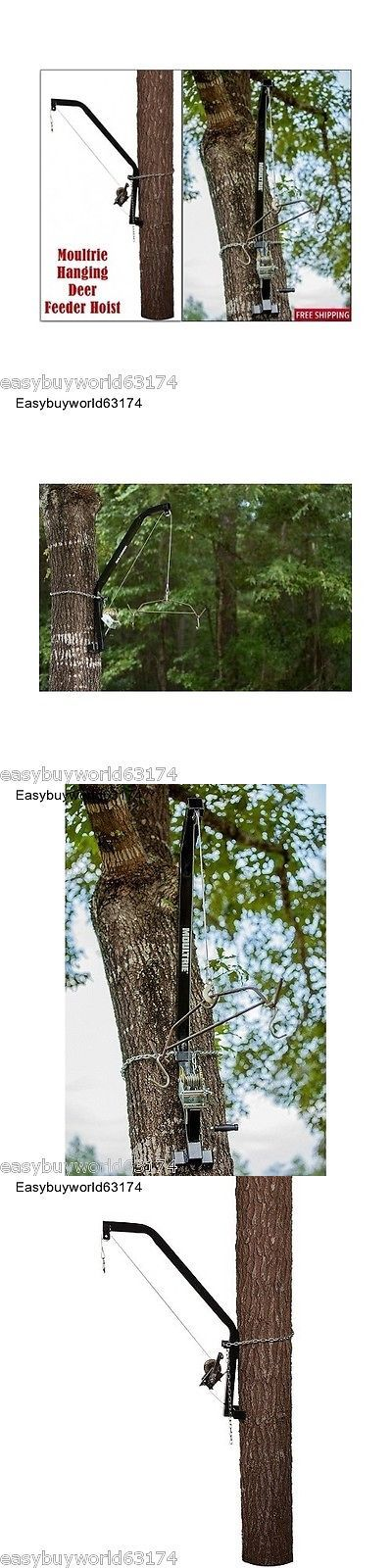 Game Feeders and Feed 52504: Moultrie Hanging Deer Feeder Hoist Heavy Loads Feeders,Big Game BUY IT NOW ONLY: $125.99