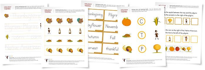 Exciting Thanksgiving Worksheets: A Cornucopia Of Fun - repinned by @PediaStaff – Please visit http://ht.ly/63sNt for all (hundreds of) our pediatric therapy pins