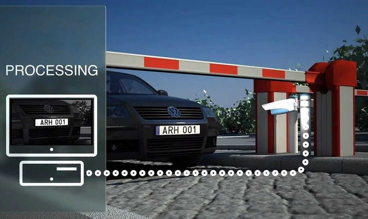 Automatic vehicle number plate recognition