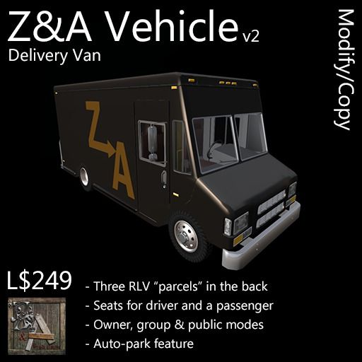 Z&A Vehicle (Delivery Van)