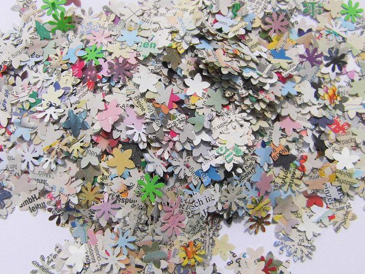 Konfetti Blüten Hochzeitskonfetti Hochzeitsdeko paper ...