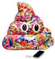XL Sprinkle Poop Pillow