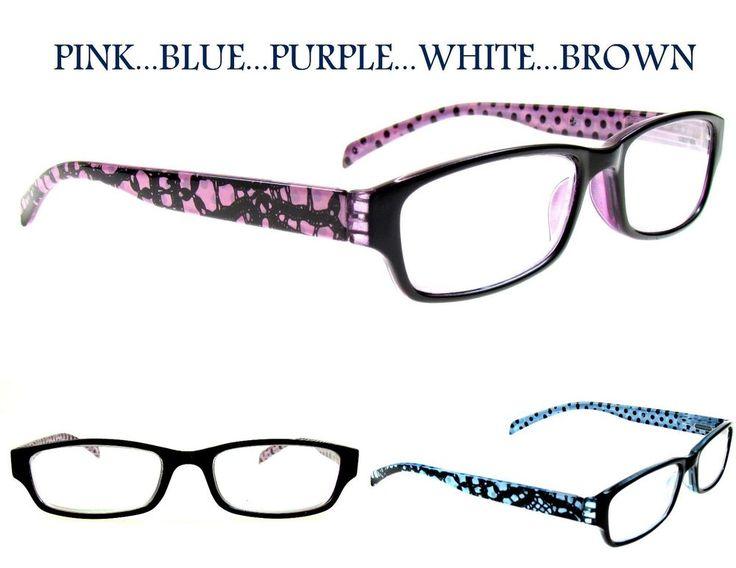Fashion Reading Glasses - Tattoo Purple +2.5 by ilovemyreadingglasses BEuAhL9bS