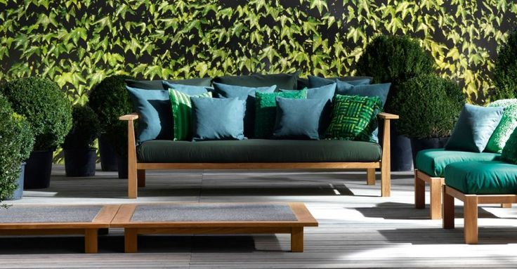 Exterior sofa Gervasoni InOut de Banni