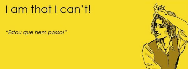"""É de opinião geral que qualquer frase dita em inglês soa sempre melhor. No seguinte caso…talvez não! Imagine que os nossos tradicionais ditados populares são traduzidos à letra para inglês? Foi precisamente essa brincadeira que Luís Santos fez. Criou uma página no facebook – que rapidamente se tornou um fenómeno de likes e shares – onde através de pósteres ilustrados transformou os """"dizeres portugueses"""" numa divertida bizarrice inglesa."""