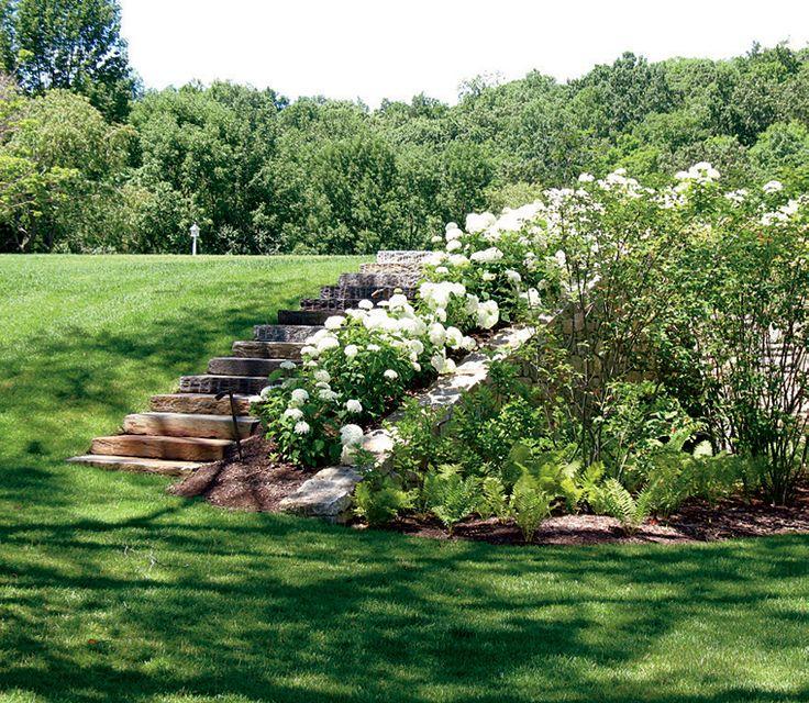 best 25 sloped yard ideas on pinterest yard landscaping house exteriors and sloped garden. Black Bedroom Furniture Sets. Home Design Ideas