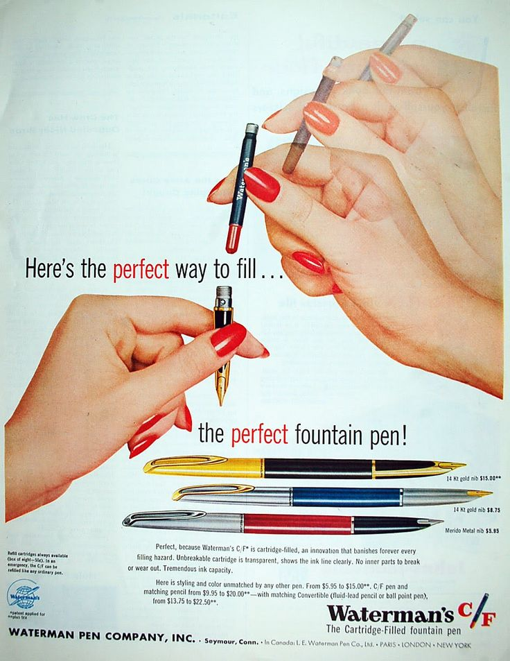 fountain pen advertising While they may be small, promotional pens are definitely mightier than the sword from ballpoint to fountain, find the one that works right for your writing needs.