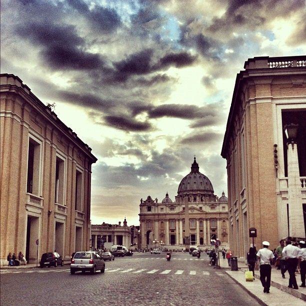 Via della Conciliazione en Roma, Lazio
