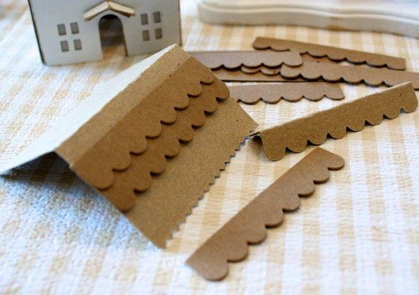 Sizzix Die Cutting Tutorial | Glittered Wintery Cottage by Hilary Kanwischer