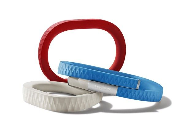 Jawbone Up~ a bracelet you wear 24/7 that keeps track of your sleep, what you eat and the amount of ex resize you get. Reminds you to move, to eat better for a healthier you!  (Sort of like fitbit only more features)