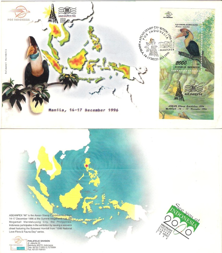 Stamp Asian Pex 96