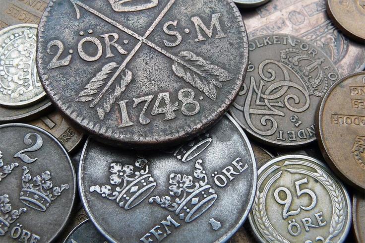 värde på gamla mynt