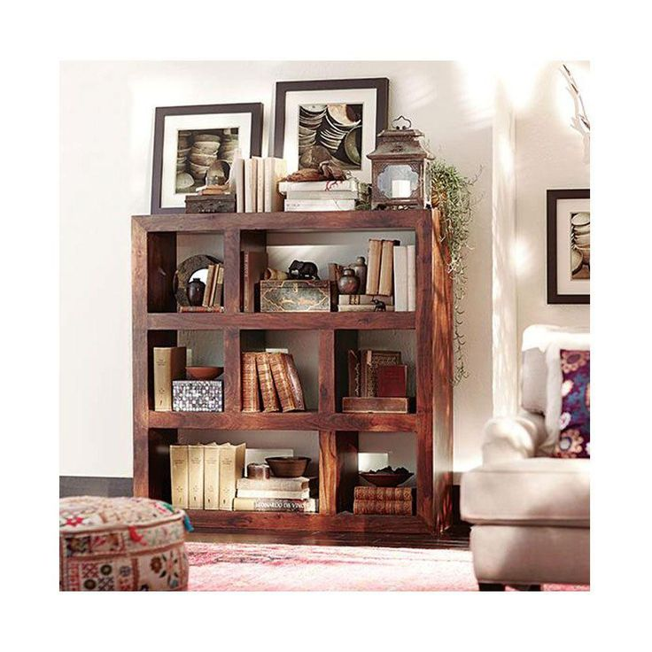 Organize your books, accessories, and collectibles on this three-shelf walnut bookcase. It's made of smooth, polished wood in a contemporary design. The bookcase can complement any decor or furniture. It's one of The Home Depot's most pinned products.