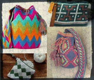 Πηγές του κόσμου knit - crochet cafe - Ολοφύτου 4 Ανω Πατήσια: Wayuu Mochilla Bag … η ιδιαίτερη τσάντα