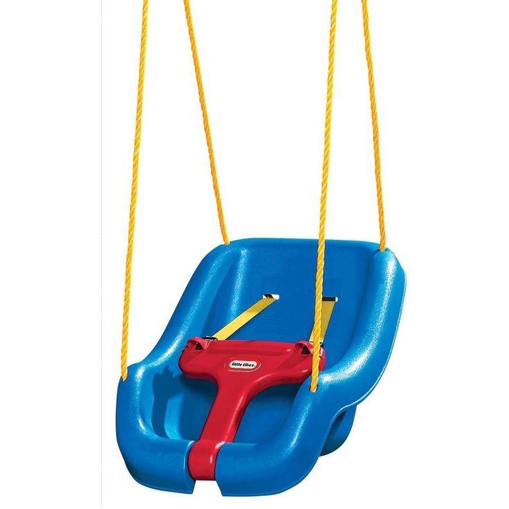 Little Tikes 2-in-1 Snug 'n Secure Swing, Blue #LittleTikes