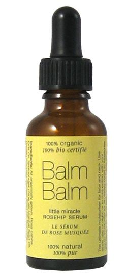 Little Miracle Rosehip Serum from Balm Balm - the best face oil I have ever used!