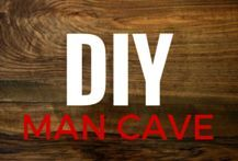 29 DIY Man Cave Ideas on a Budget. Ideas for sports man caves, man caves for guys hunt, and ideas for any man cave that is being built on a budget