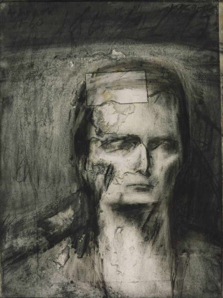 Frank Auerbach, 'Head of E.O.W.' 1959-60