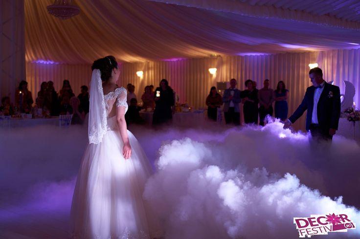 Fum greu nunta la cort  #luminiambientale #fumgreu #nunta