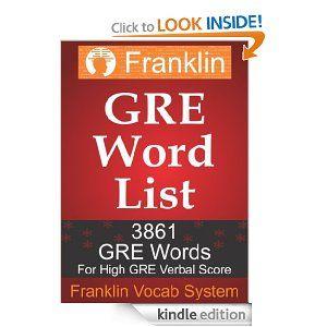 $4 #GRE #Wordlist - 3861 GRE Words from Vocab Builder Mind Machine (GRE Vocab Builder)